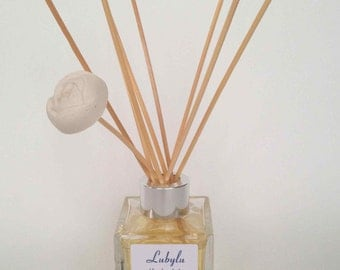 Lubylu Reed Diffuser with White Rose