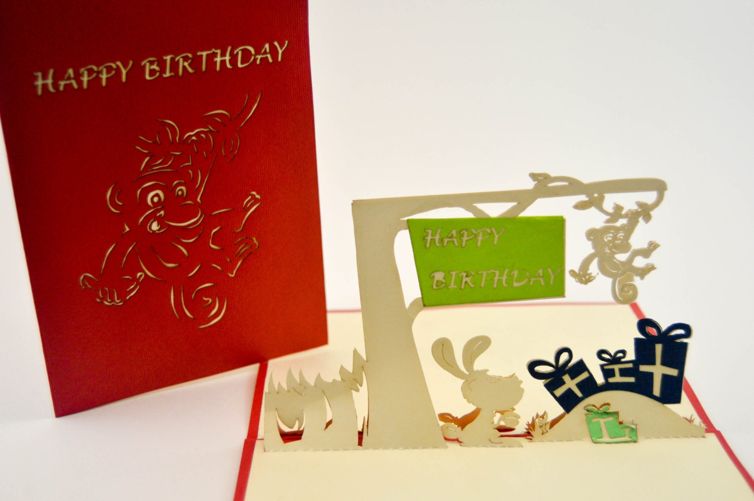 Happy Birthday Greeting Card 3D Greeting Card By GoodGreetings