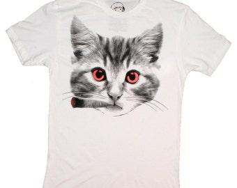 Blunt Kitty / Smoking Cat Shirt / 420 Cat Shirt / Blunt Smoking Cat Shirt / Funny Cat Shirt / Lol Cat / Marijuana Kitty / Funny 420 Shirt