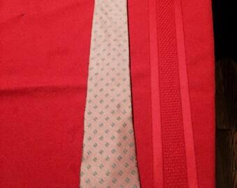 Vintage Givenchy Monsieur Handmade Silk Tie