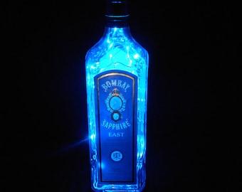 Bombay Sapphire East Bottle Light