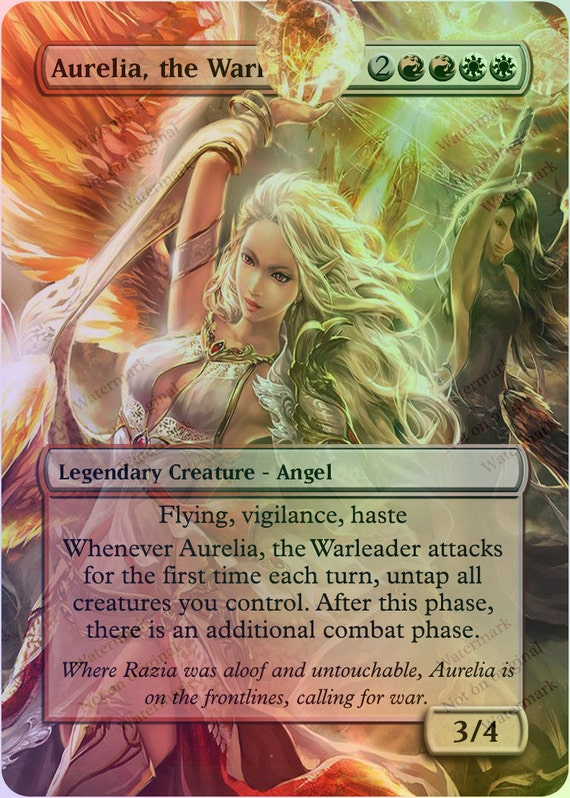 Aurelia the Warleader Magic Casual Play Only MTG by ...
