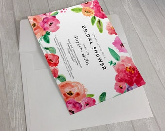 Summer Fields Invitation Design