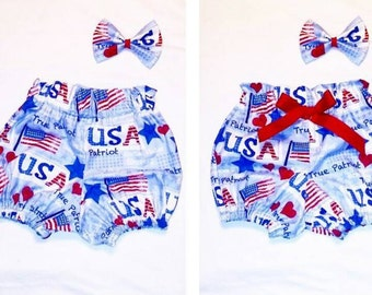 Patriotic Bloomers