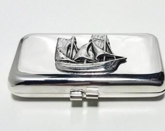 Pillbox sailing ship