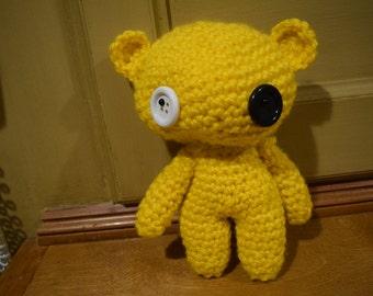 Crochet Bear Plushie
