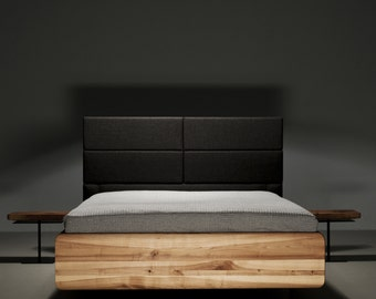 MAZZIVO Exclusive bed BOXSPRING/ OUTLET/ 140 x 200/ Solid Alder/ value 1499,-