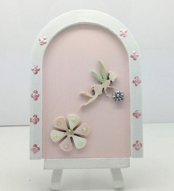 Little sparkles fairy doors magical little fairy door sits on for The little fairy door