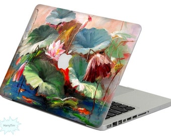 New Oil Painting decal mac stickers Macbook decal macbook stickers apple decal mac decal stickers 22