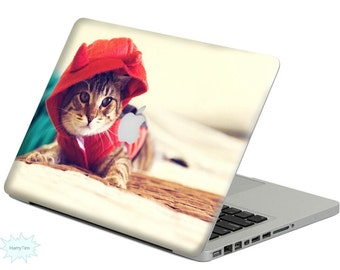 New cat decal mac stickers Macbook decal macbook stickers apple decal mac decal stickers