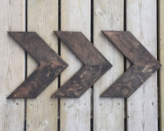 Wooden Arrow Wall Art - Home Decor - Arrow Decor - Wooden Sign