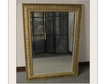 Ornate Gold & Bronze Finished Wall Mirror