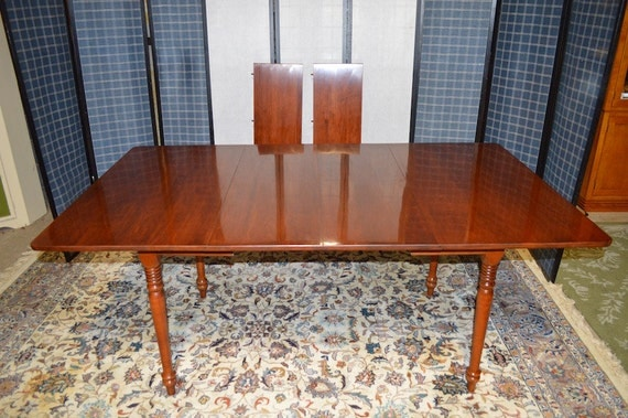 vintage pennsylvania house dining room table by