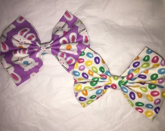Easter fabric bow