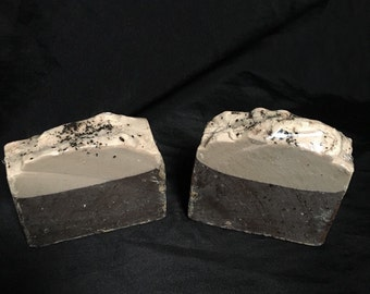 French Vanilla Coffee Cold Process Soap Bar