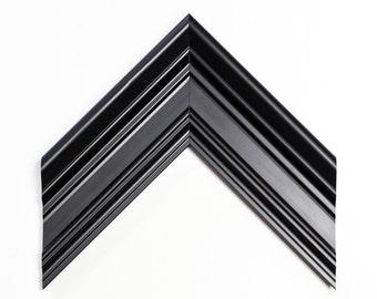 Diploma Frame, Black Traditional Custom Frame, Black Frame, Wall Decor, Decorative Frame, Custom Frame Sizes, Elaborate frame