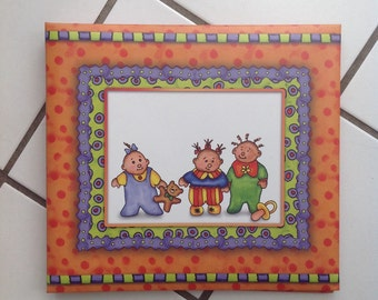 """Kids Scrapbook Album ( for 8"""" X 8"""" page layouts)"""