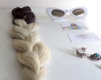 Brown Blonde Ombre Braiding Hair #CatfaceHair