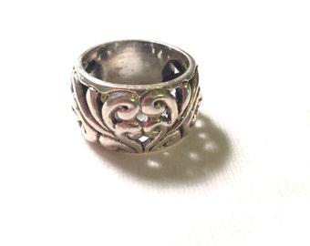 vintage 925 sterling silver design ring
