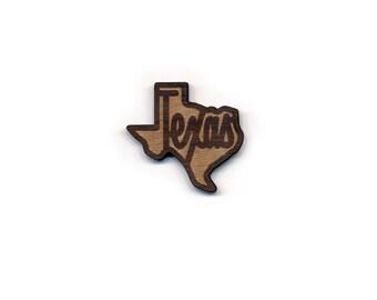 Texas Laser Cut Lapel Pin