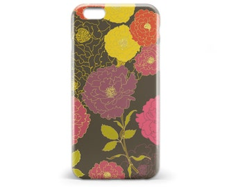 1409 // Floral Phone Case iPhone 5/5S, 6/6S, 6+/6S+ Samsung Galaxy S5, S6, S6 Edge Plus, S7
