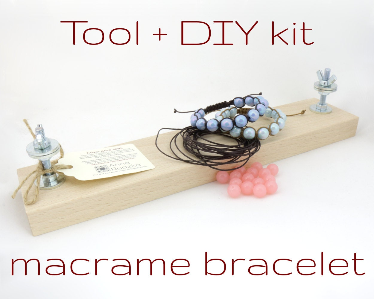 macrame tools macrame starter kit with a string holder tool free 733