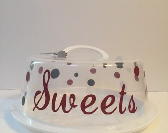Sweets Cake plate