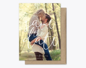 Full Love Photo Save the Date Printable