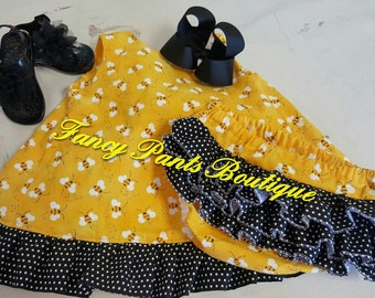 Bee Swing Back Outfit