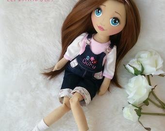 Handmade Doll, Cloth Doll, Tilda Doll