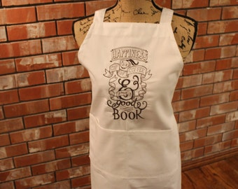 Coffee and a Good Book Apron