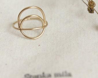 ring gilded brass Eyota