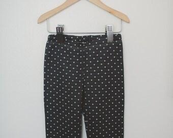 Polka Dot Baby Leggings, Baby Leggings, Infant Leggings, Knit Leggings, Baby Pants, Made To Order
