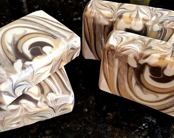 Honeysuckle Silk Home Made Artisan Soap Bar / Cold Process Soap / Silk Soap / Sweet Honeysuckle Soap