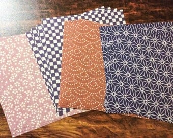 Fabric Paper - Japanese Washi Chiyogami for Origami, Wrapping, Crafts