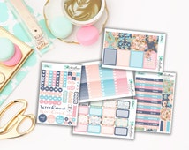 Sale 50% off Let Yourself Bloom Weekly Planner Stickers Kit [KIT30]