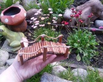 Fairy Garden Bridge,fairy bridge, fairy furniture,fairy accessories,fairy garden supply, twig bridge for your fairy garden or terrarium