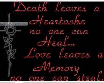 love leaves 5x7