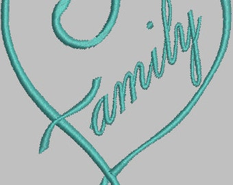 Family - Digital Embroidery Design