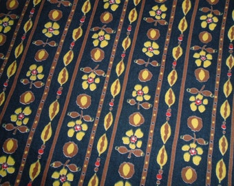 True Vintage - Cotton fabric - by the Half Yard