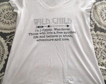 Wild Child Women's Fitted Tee