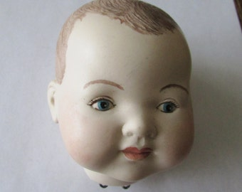 A M Germany Bisque Doll Head