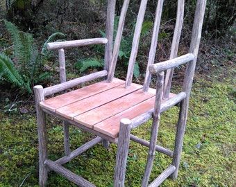 Rustic Chair - New - Craftsman Made