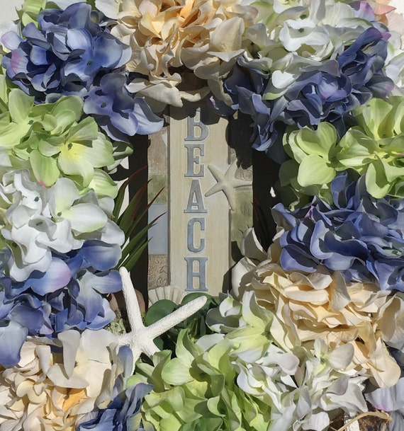 Beach decor nautical home decor beach house decor floral for Beach house designs florist