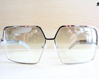Gianfranco FERRE GF 51402 sunglasses square silver