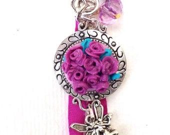jewel of bag, Keyring series flowers