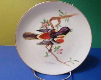 Designer plate, signed by Artist: Katrina