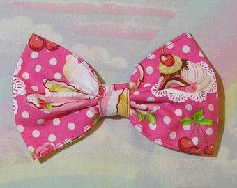 Sweet Lolita Hair Bow, Fairy Kei Hair Bow, Kawaii Bow
