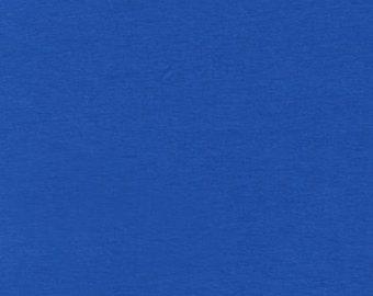 Royal Blue Cotton Spandex