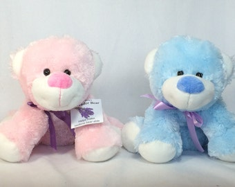 Lavender Bears - Ultra soft floppy bears filled with lavender, Child sleep aid